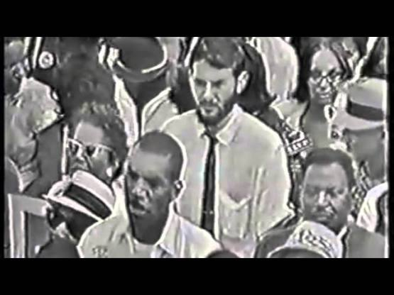 """Bob Dylan performs """"Only A Pawn In Their Game"""" at March on Washington, Aug. 28, 1963"""